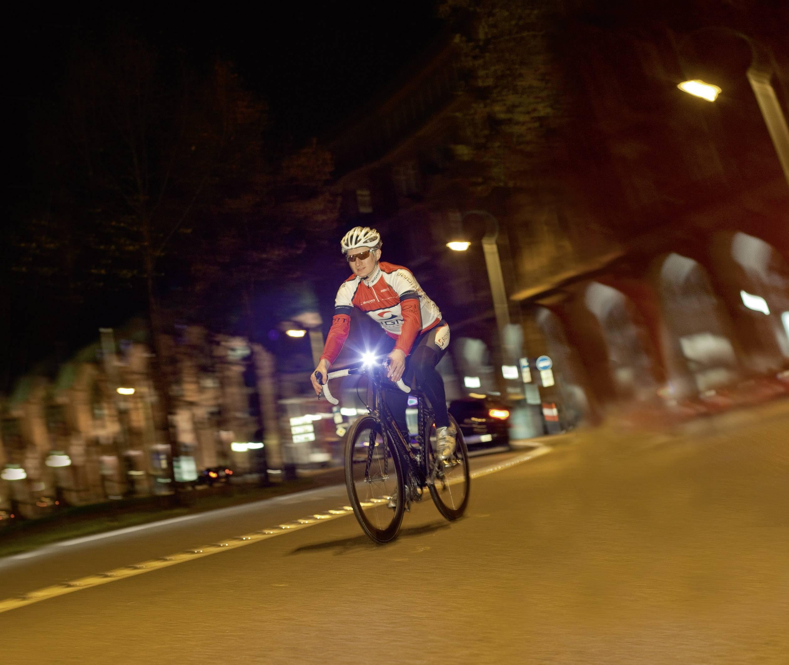 Set svetiel na bicykel Lightster a Cuberider ll
