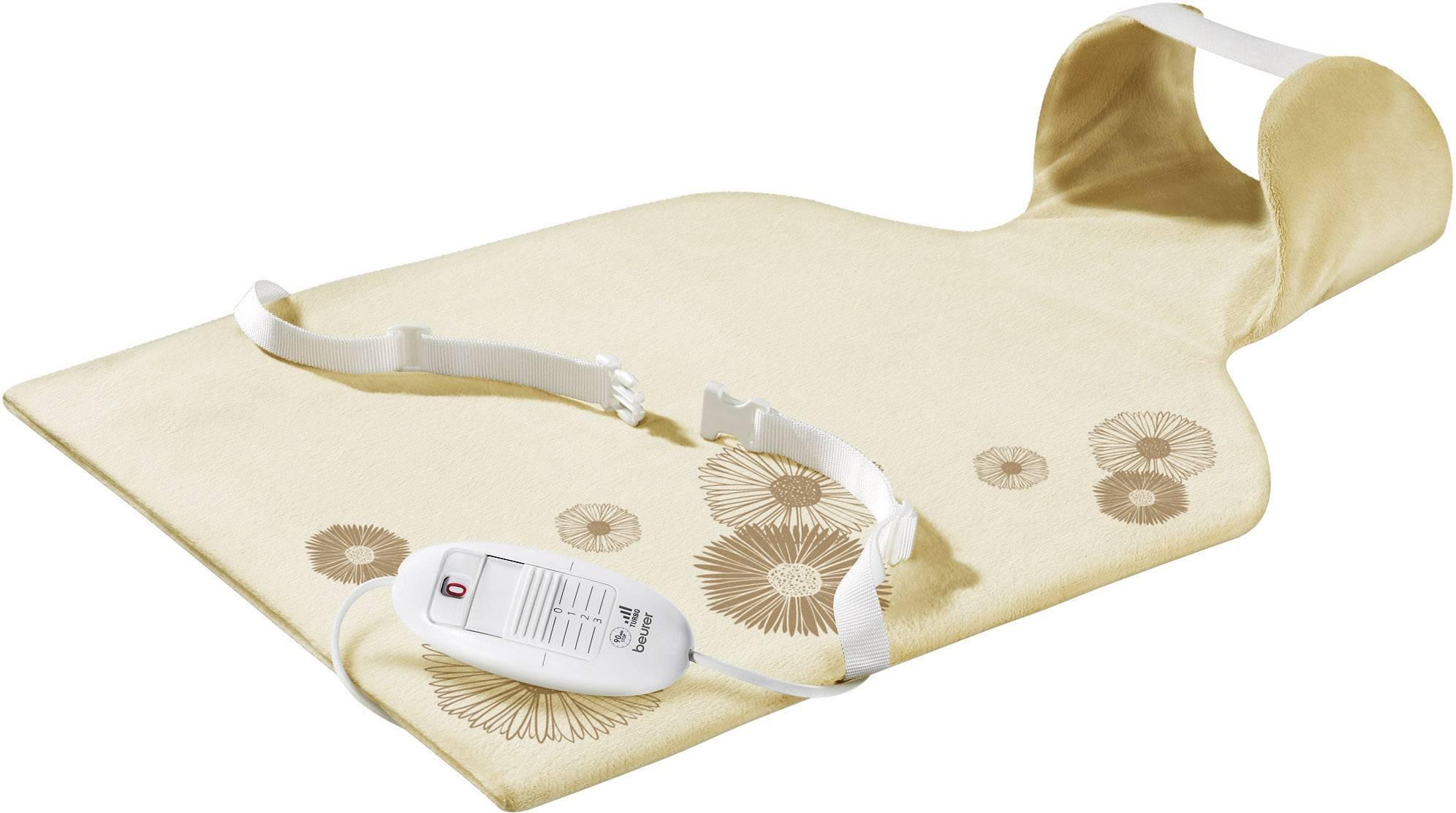 Vyhrievacia deka na chrbát a za krk Beurer HK 58 100 W béžová 62 cm x 42 cm