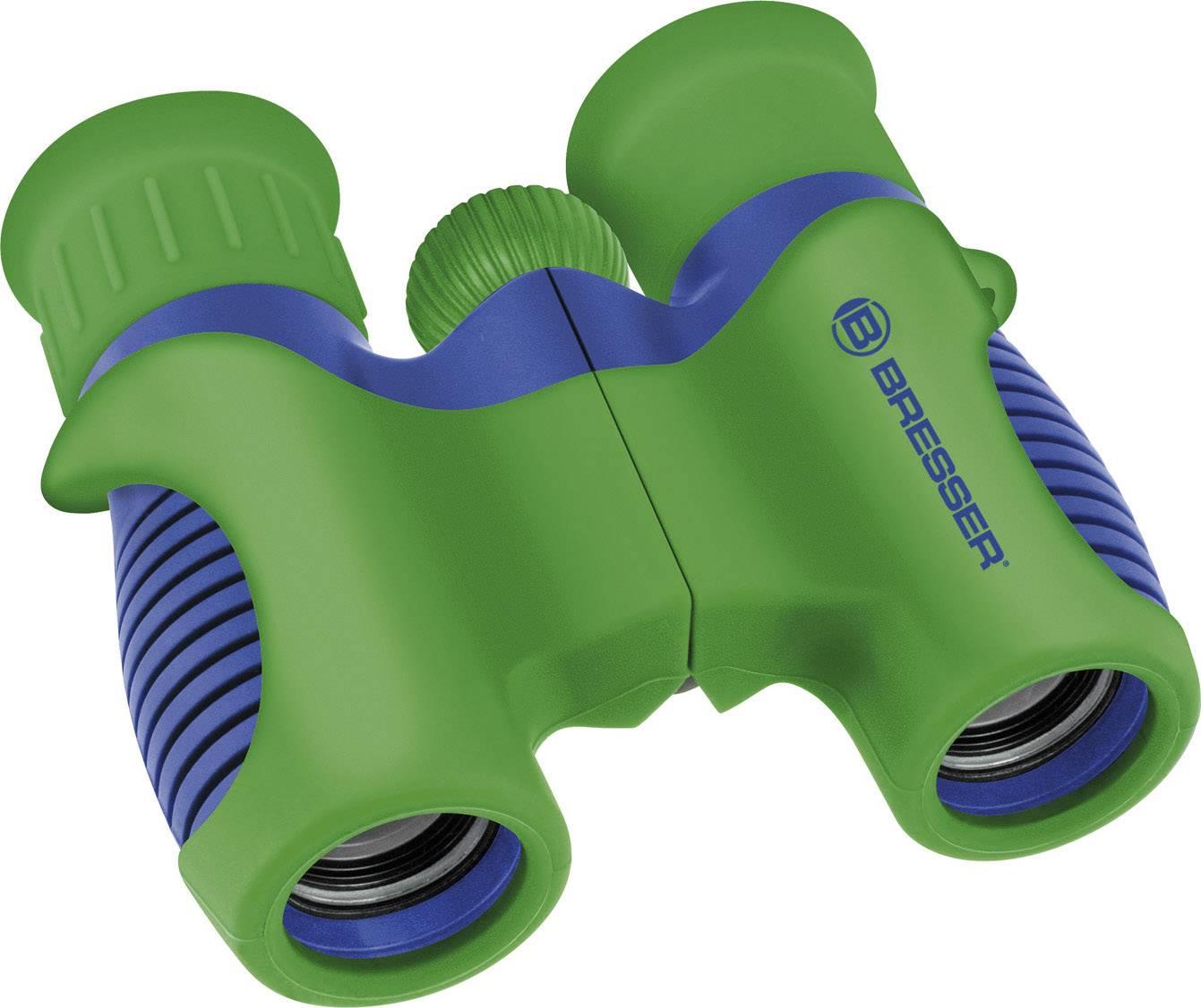 Dětský dalekohled Bresser Optik Junior 6 x 21 mm, modrozelená