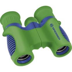 Detský ďalekohľad Bresser Optik Kinderfernglas Junior 6 x 21 mm, modrá, zelená