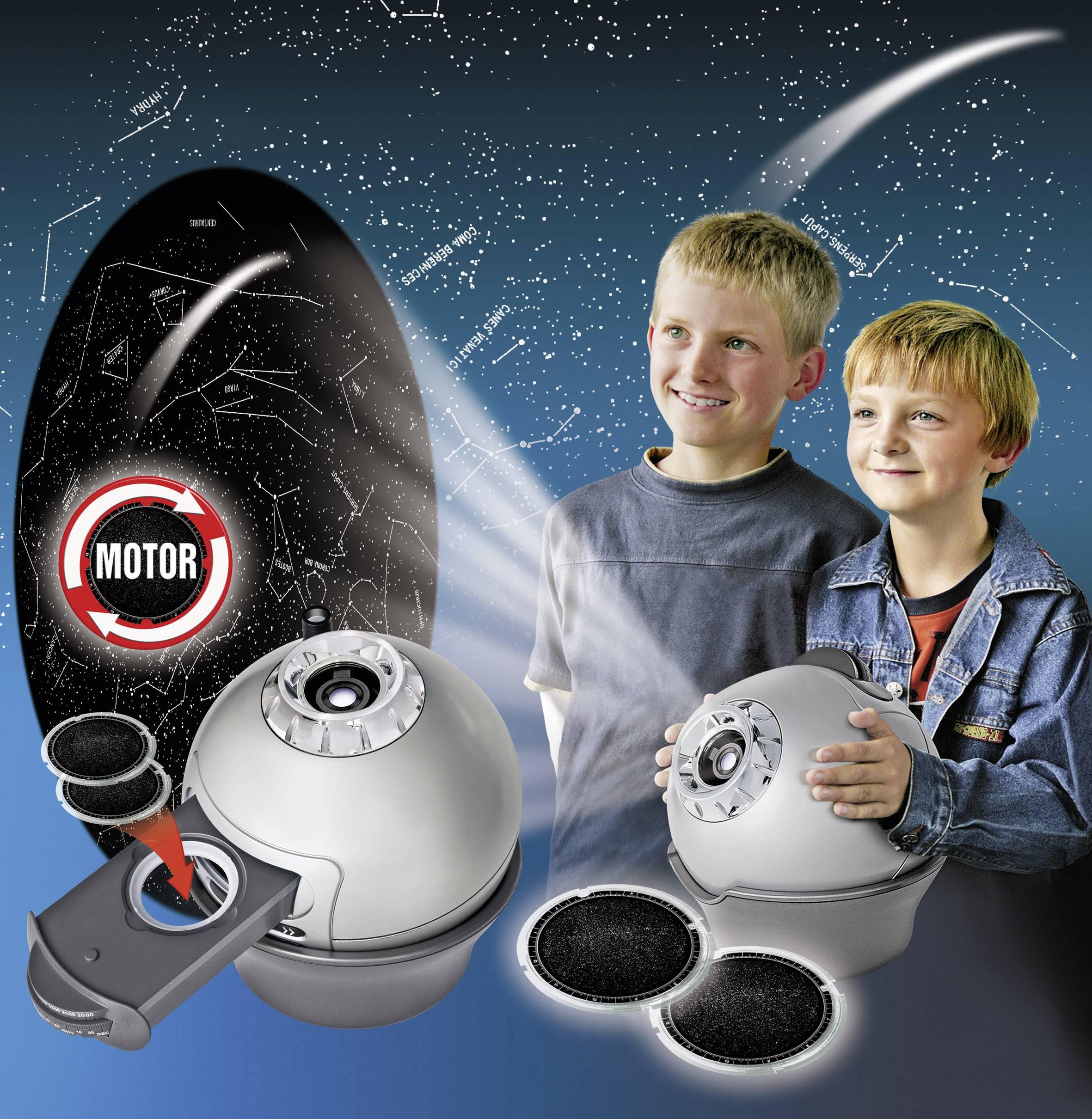 Domáce planetárium s motorom