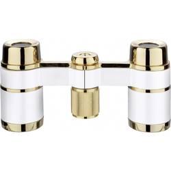 Kukátko Eschenbach Collezione la Scala 18 mm perlově bílá, zlatá