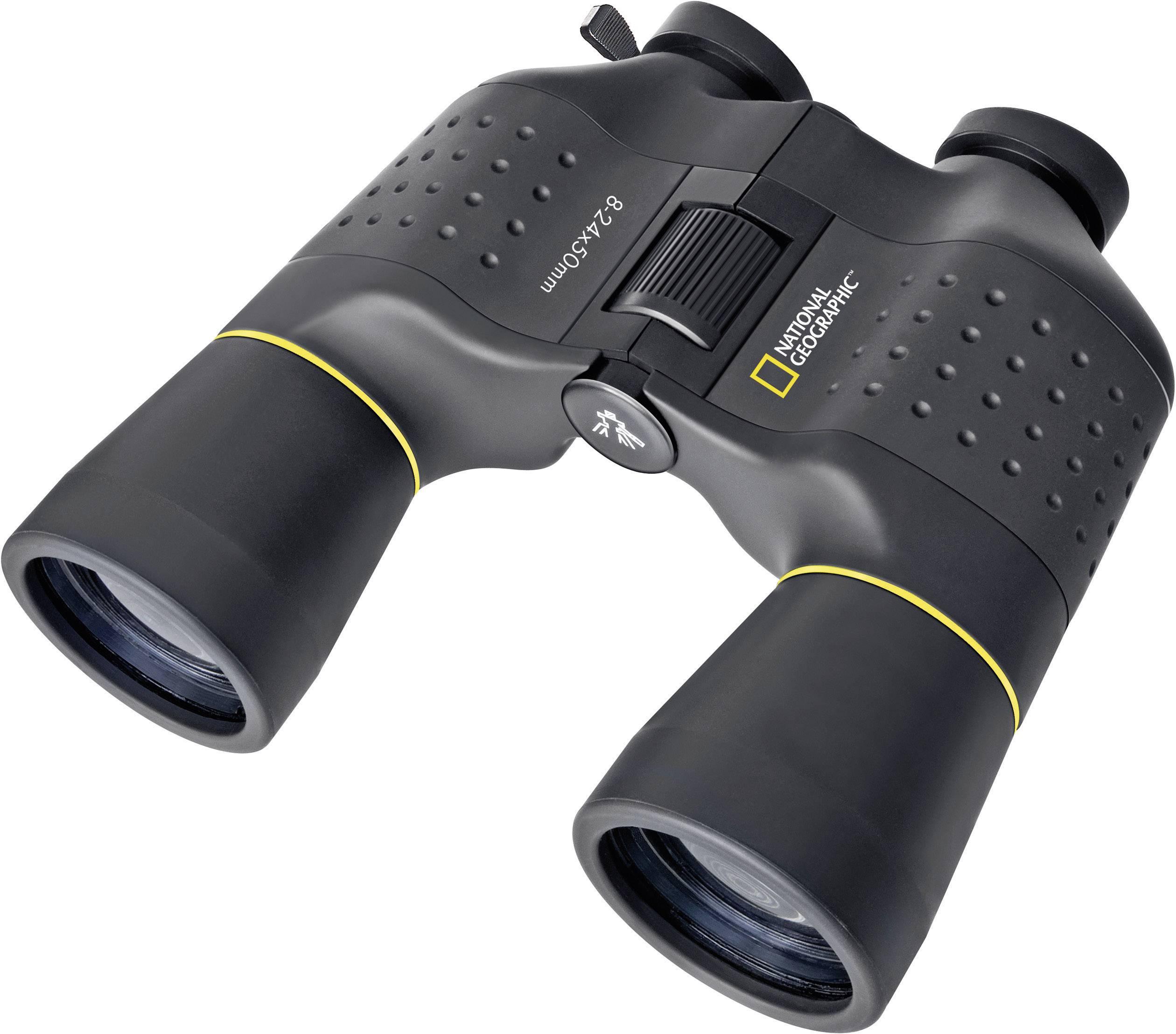 Porro-prizmatický ďalekohľad so zoomom 8-24x50