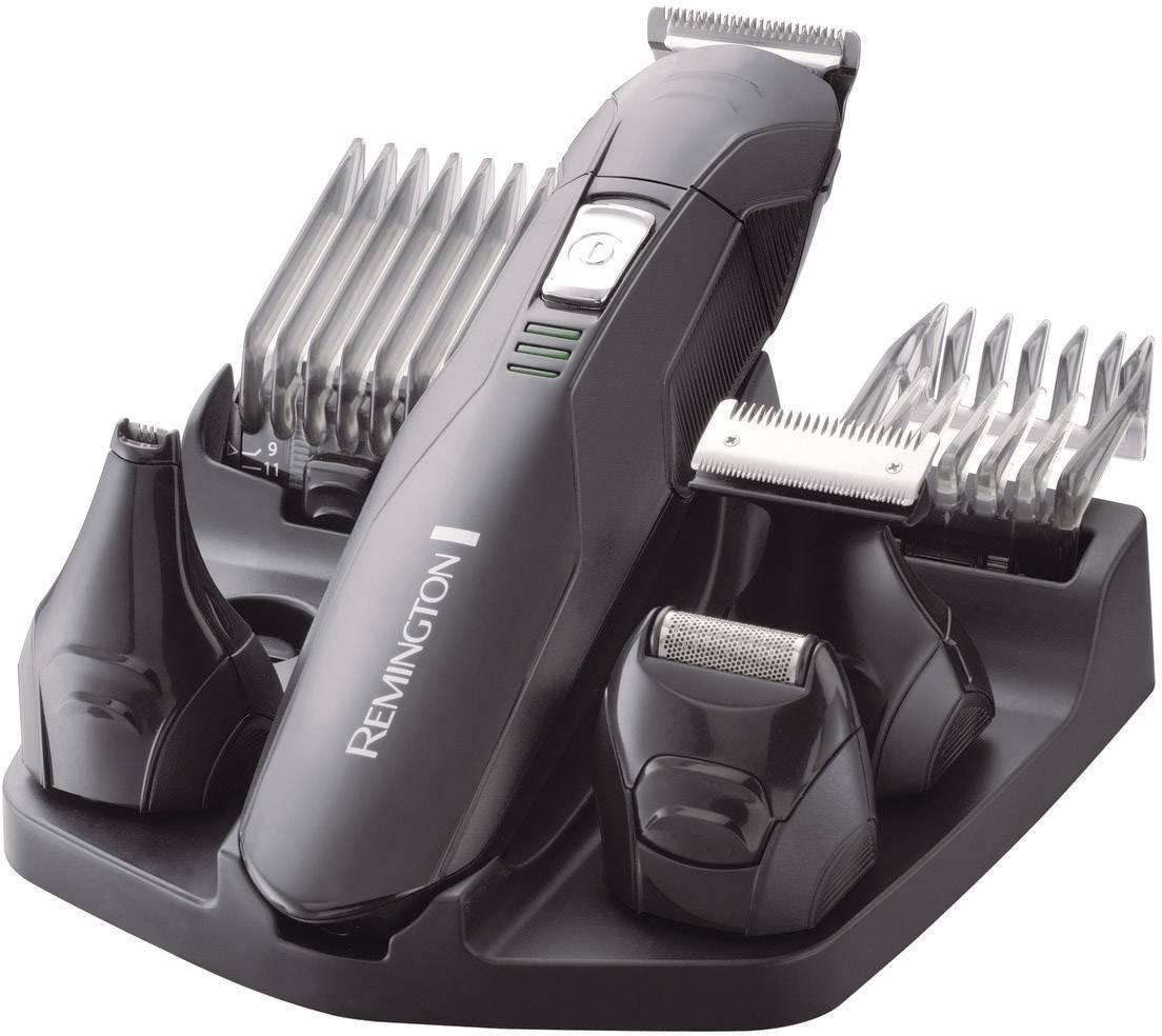 Zastrihávač na vlasy a fúzy Remington PG6030 Edge, omývateľný, čierna