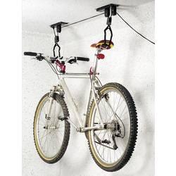 Stropný držiak na bicykel zdvíhací Eufab 16411, ocel, čierna