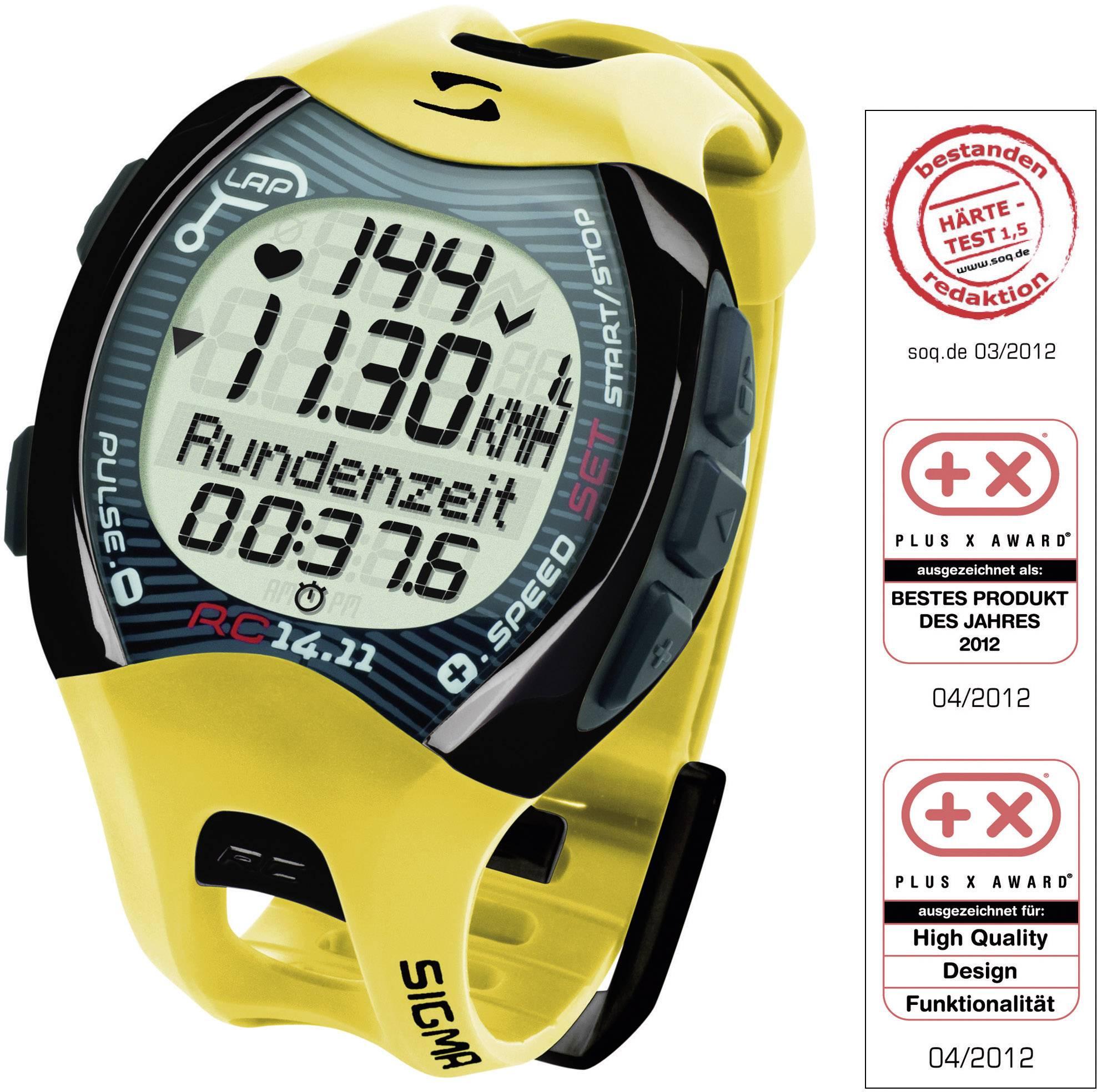 TEST: Sporttester Sigma RC 14.11 vám spočítá naběhané kilometry i bez GPS
