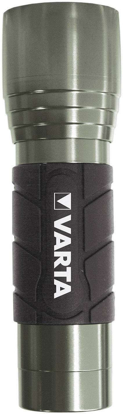 Kapesní LED svítilna VARTA Active Outdoor, 1W, stříbrná