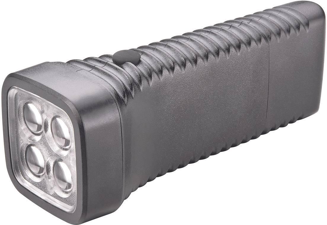 Vreckové LED svietidlo AccuLux MultiLED, čierne
