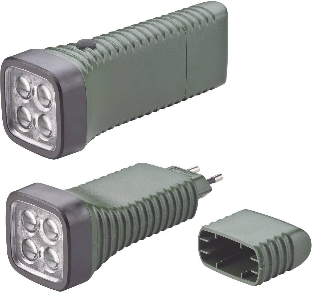 Vreckové LED svietidlo AccuLux MultiLED, zelené