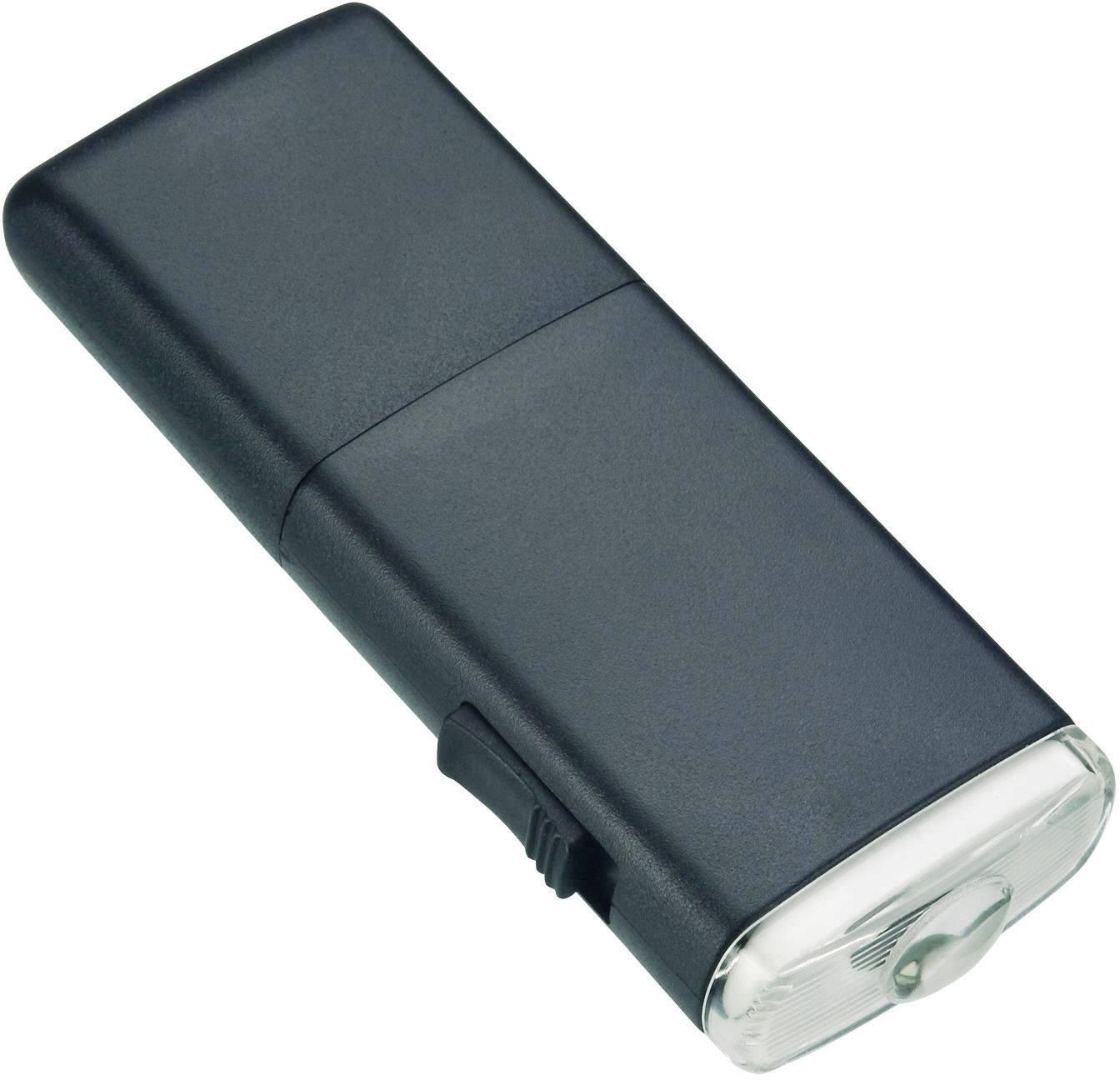 Vreckové LED svietidlo AccuLux Akku Joker, čierne