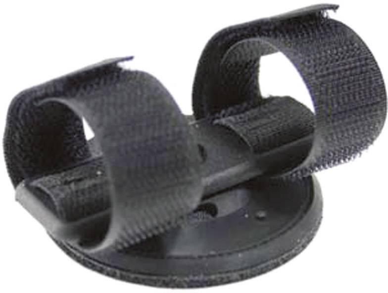 Držiak na helmu na suchý zips pre AccuLux HL 10 EX a Petalux