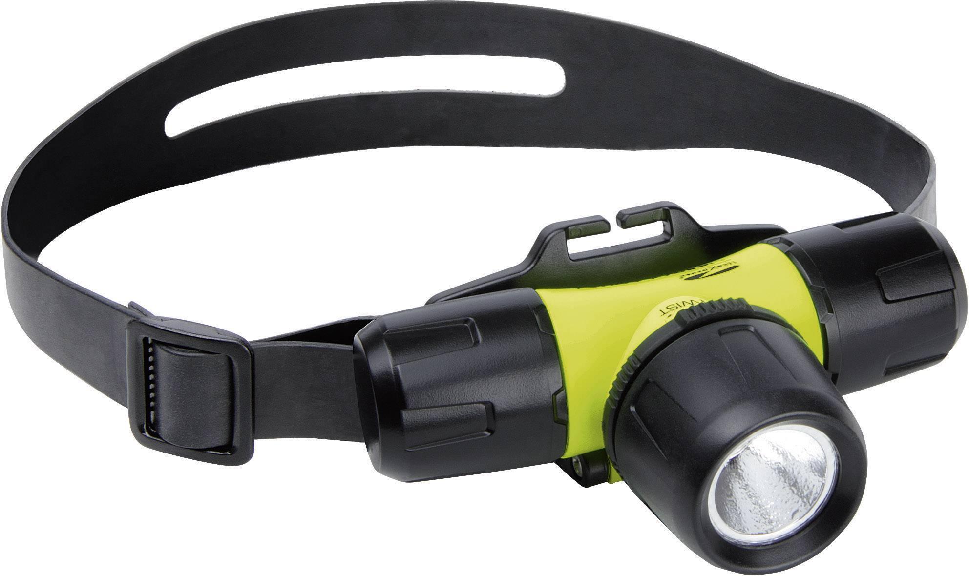 Vodotěsná čelovka LiteXpress Liberty Aqua 1, žlutá/černá