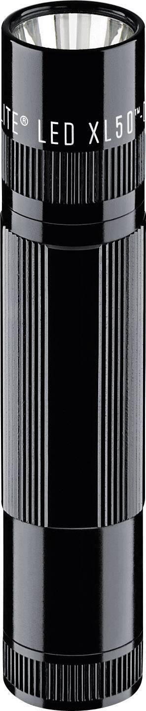Vreckové LED svietidlo Mag-Lite LED XL50, čierne