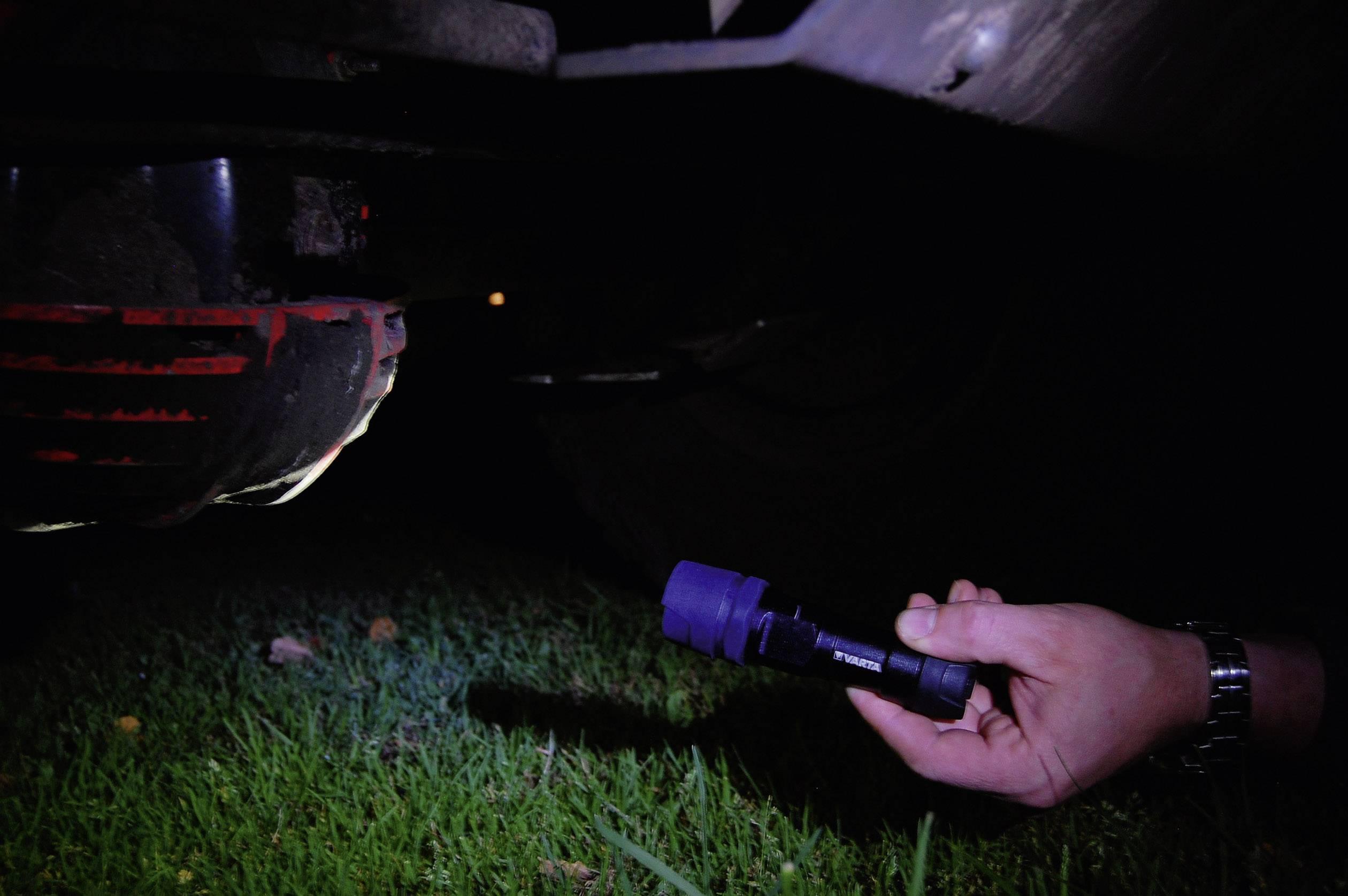 Vreckové LED svietidlo Varta, nerozbitné, 1 W, 2 mignon