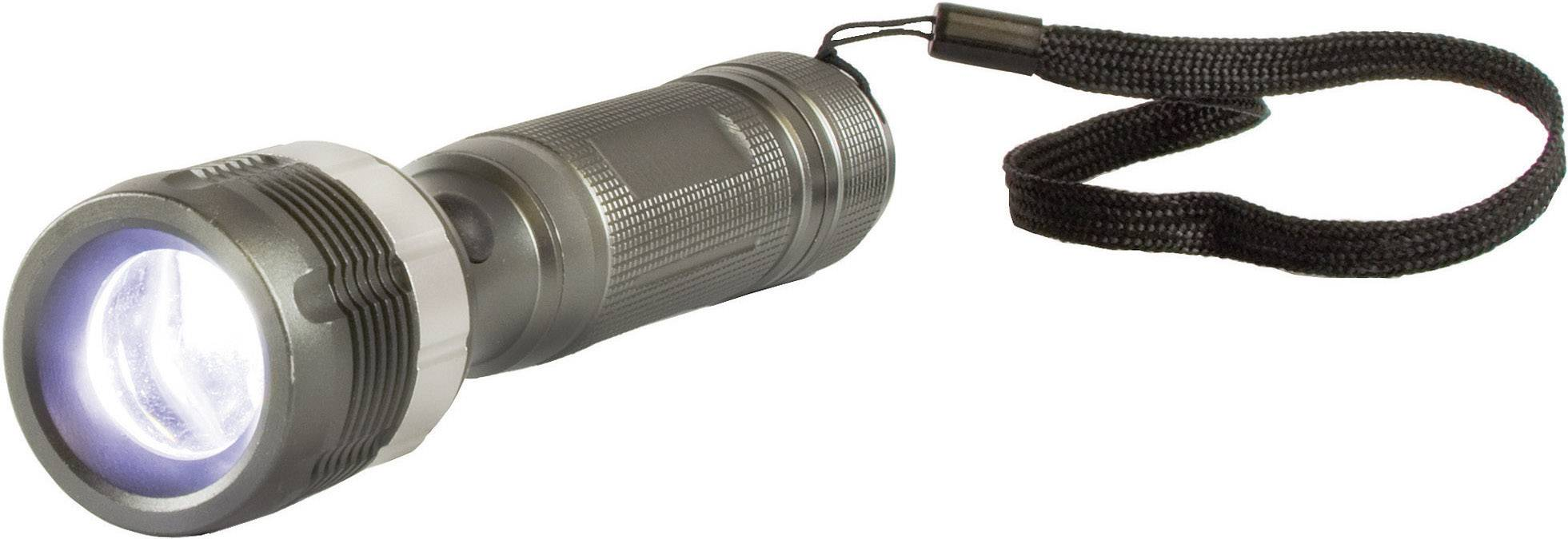 Vreckové LED svietidlo Arcas 3 WZoom, vrátane 3 AAA batérií