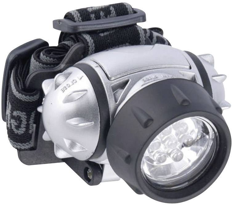 LED čelovka 7 LED Grundig, 38692, stříbrná