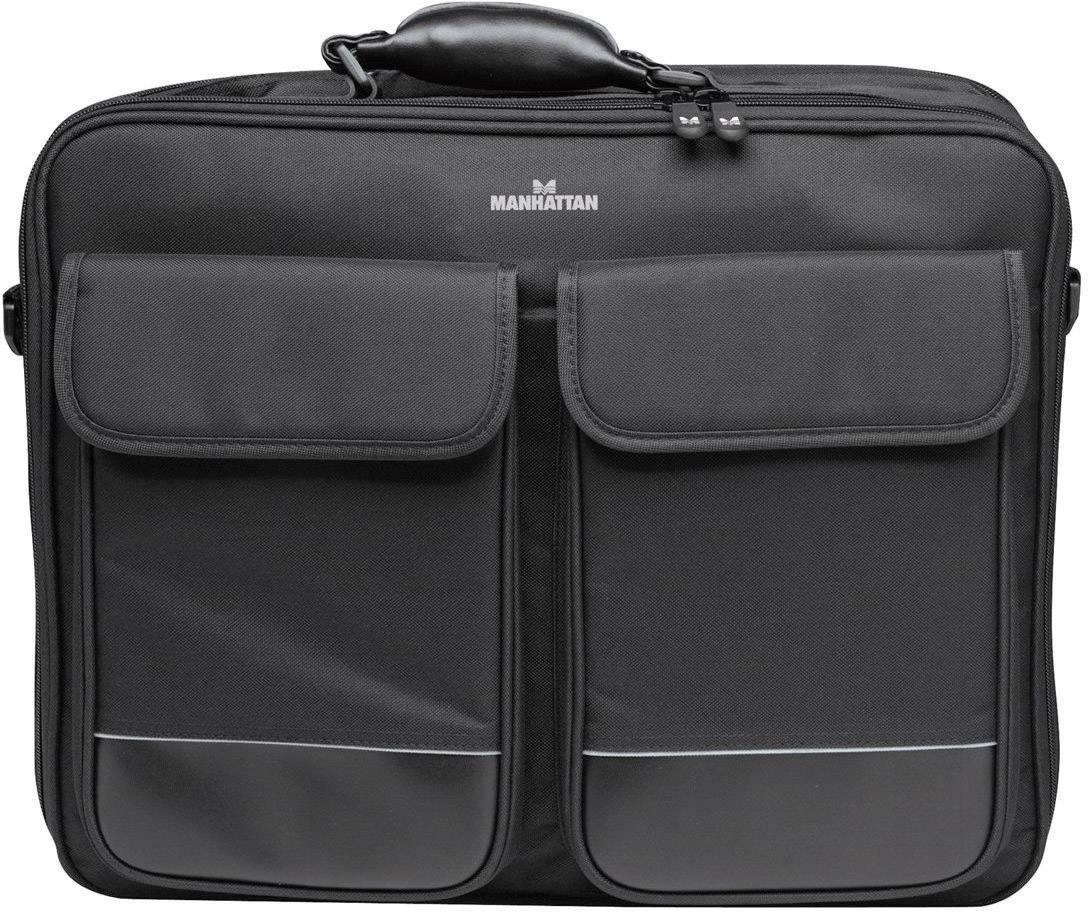 """Taška na notebook Manhattan Big Apple 433723 s max.veľkosťou: 43,9 cm (17,3"""") , čierna"""
