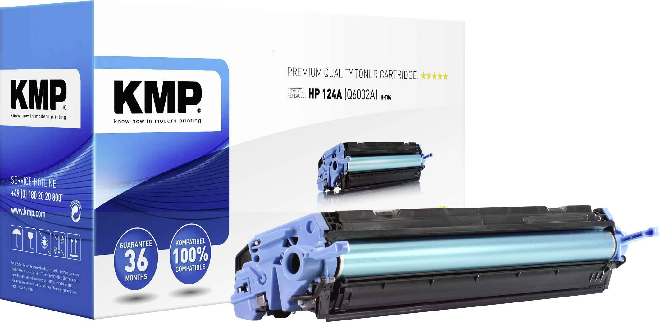 Toner KMP pro HP Q6002A žlutý