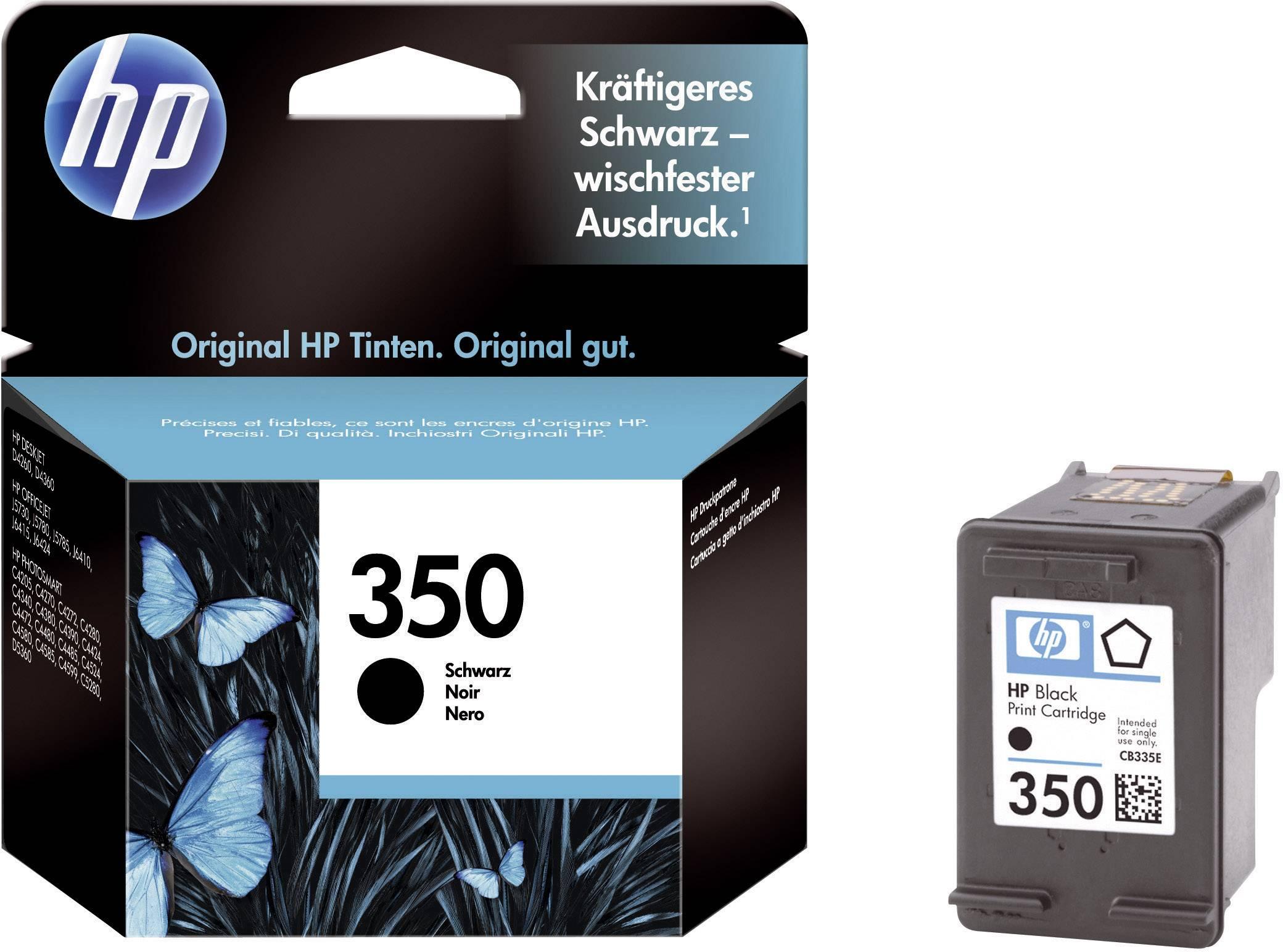 Cartridge do tiskárny HP CB335EE (350), černá