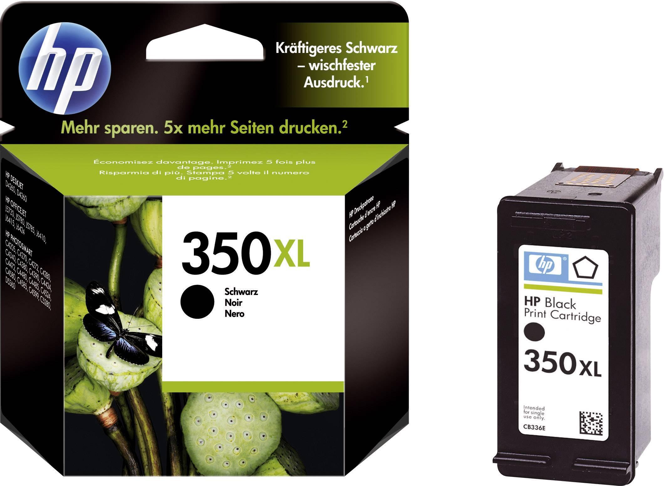 Cartridge do tiskárny HP CB336EE (350XL), černá