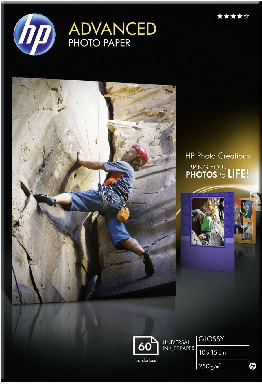 Fotopapír HP Advanced, Q8008A, A4, 10 x 15 cm, 60 listů