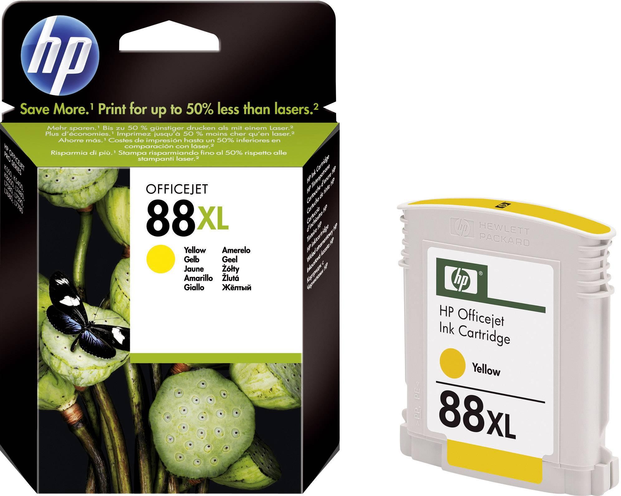 Cartridge do tiskárny HP C9393AE (88XL), žlutá