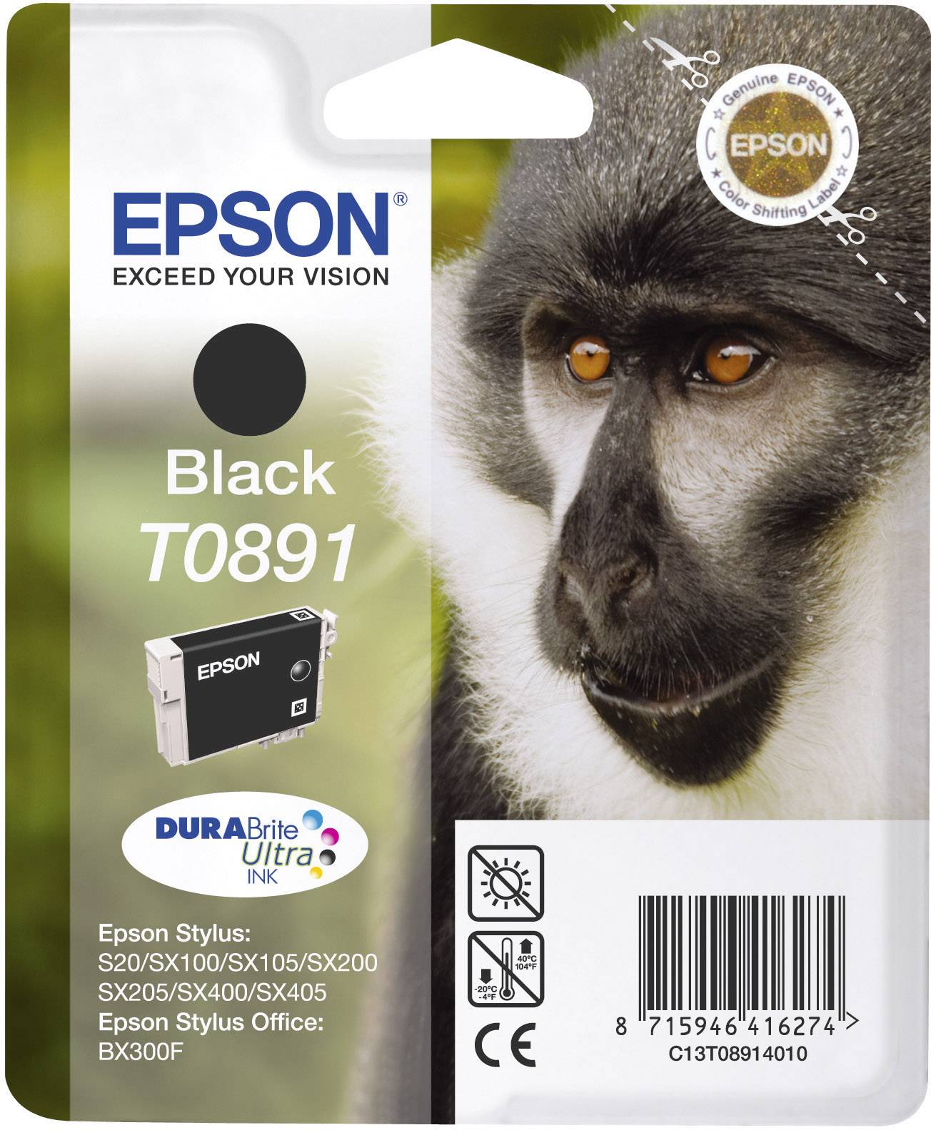 INKOUST EPSON T089140 ČERNÝ