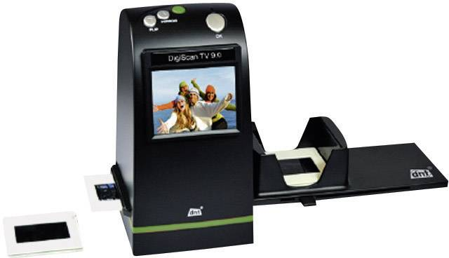 Skener diapozitivů a negativů DNT DigiScan TV 9.0 + ZDARMA 2 GB SD karta