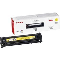 Toner originál Canon 716 Y žlutá Maximální rozsah stárnek 1500 Seiten