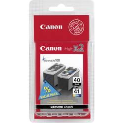 Canon Inkoustová kazeta PG-40 / CL-41 originál kombinované balení černá, azurová, purppurová, žlutá 0615B043