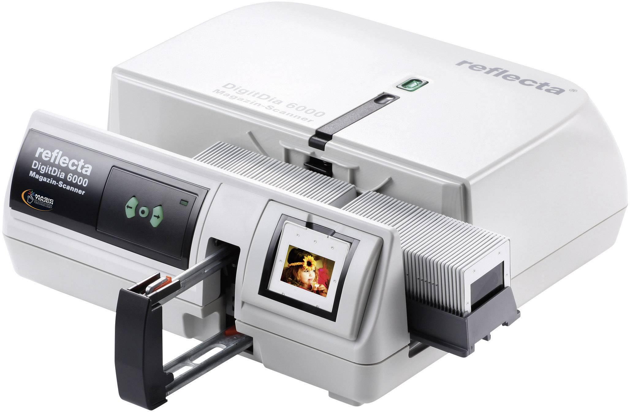Skenner diapozitivů/negativů Reflecta DigitDia 6000+, 5000 x 5000 dpi