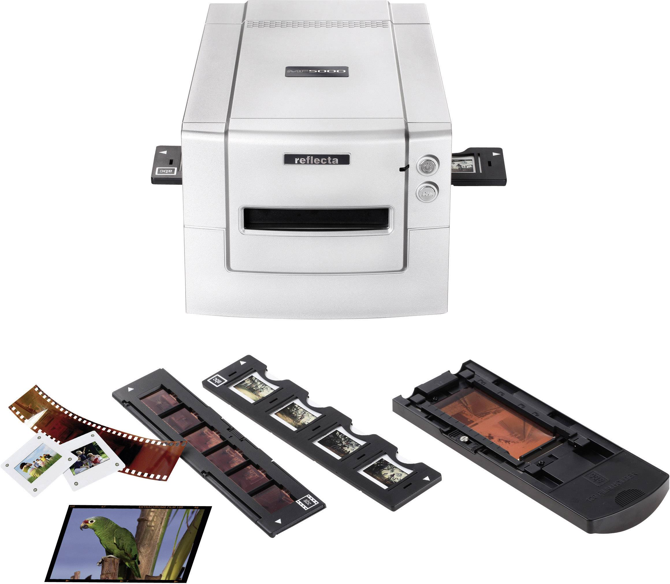 Skener diapozitívov, skener negatívov, skener fotografií, Reflecta MF 5000, N/A