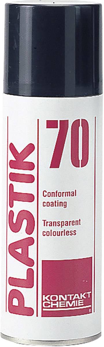 Izolačný a ochranný lak CRC Kontakt Chemie PLASTIK 70 74309-AH, 200 ml
