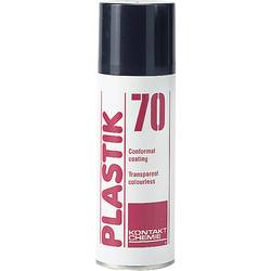 Izolačný a ochranný lak Kontakt Chemie PLASTIK 70 CLEAR 74313-AH, 400 ml