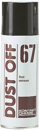 Sprej se stlačeným vzduchem nehořlavý CRC Kontakt Chemie DUST OFF 67 33163-AB, 200 ml