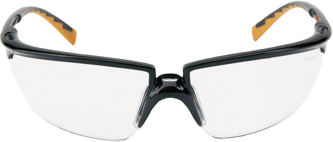 Ochranné okuliare 3M Solus, číre