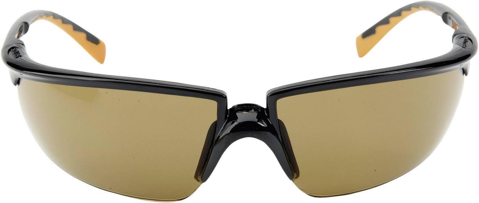 Ochranné okuliare 3M Solus, bronz