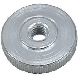 Rýhovaná matice Toolcraft, DIN 467 - 5 ZN, M3, 10 ks