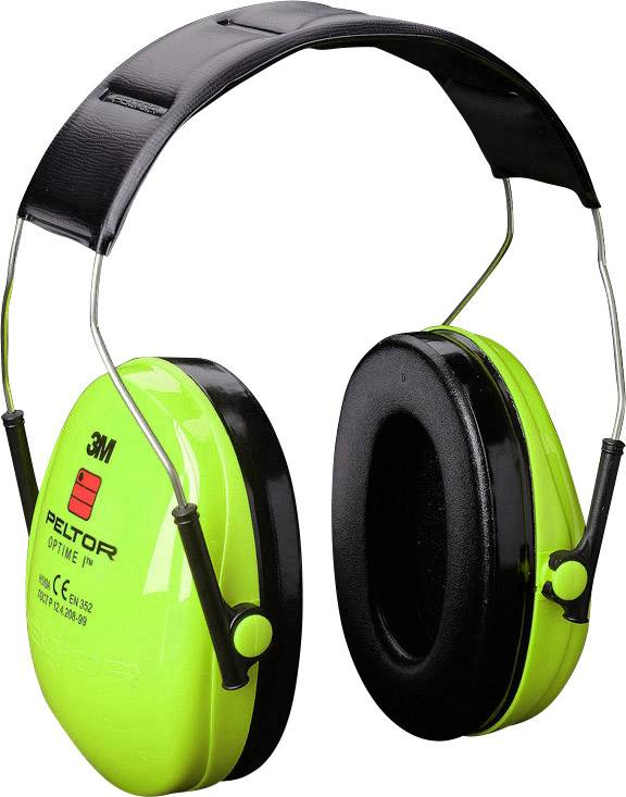 Mušlový chránič sluchu 3M Peltor Optime I Hi-Viz H510AV, 27 dB, 1 ks