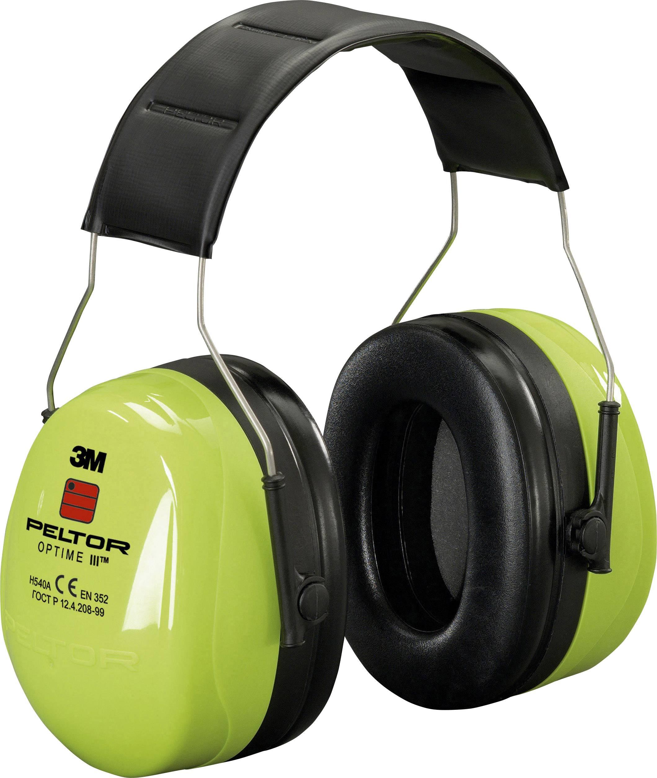 Mušľový chránič sluchu 3M Peltor Optime III HVS H540AV, 35 dB, 1 ks