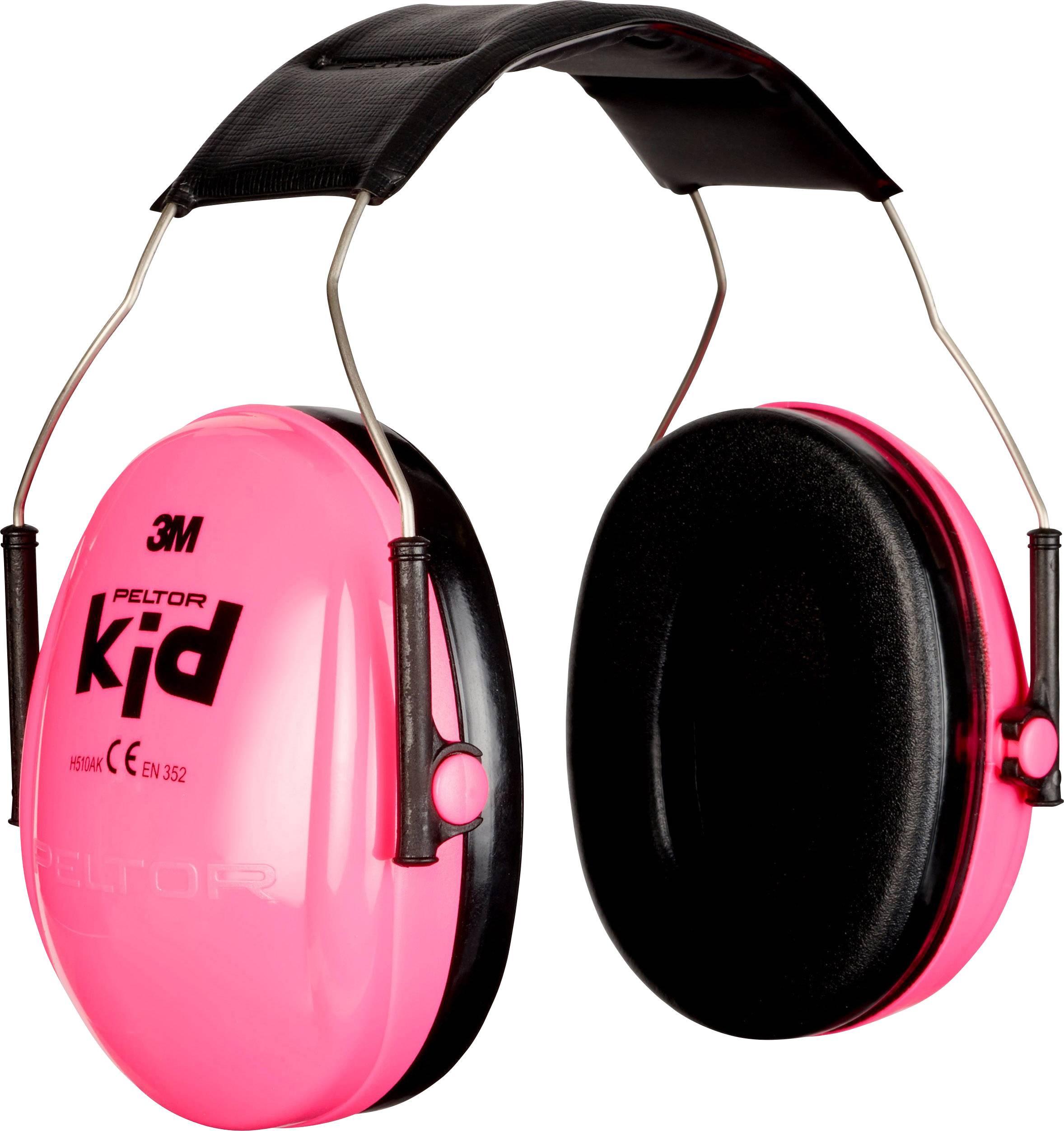 Mušľový chránič sluchu Peltor Kid KIDR, 27 dB, 1 ks