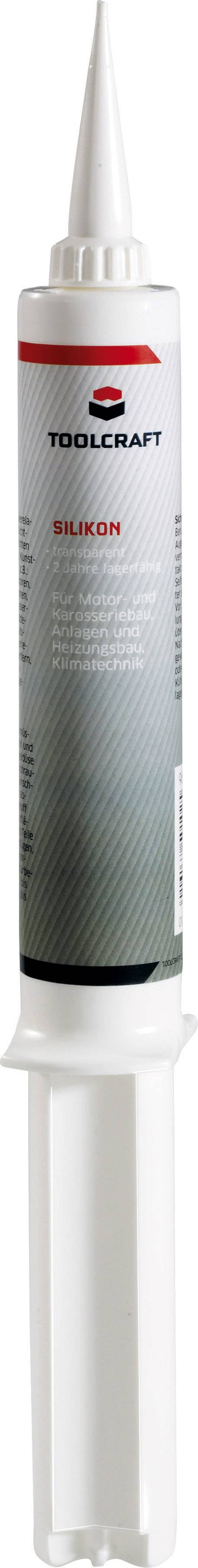 Silikon Toolcraft TC-SIL80M, transparentní
