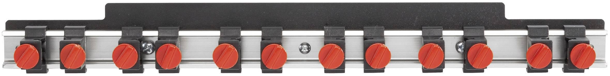 Hliníková lišta na nářadí Toolcraft 886886, 435 mm x 48mm