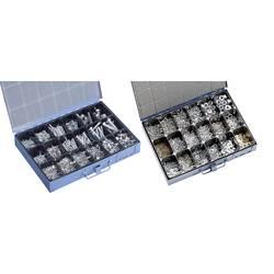 Sada spojovacieho materiálu v oceľovom kufríku, 4800 ks