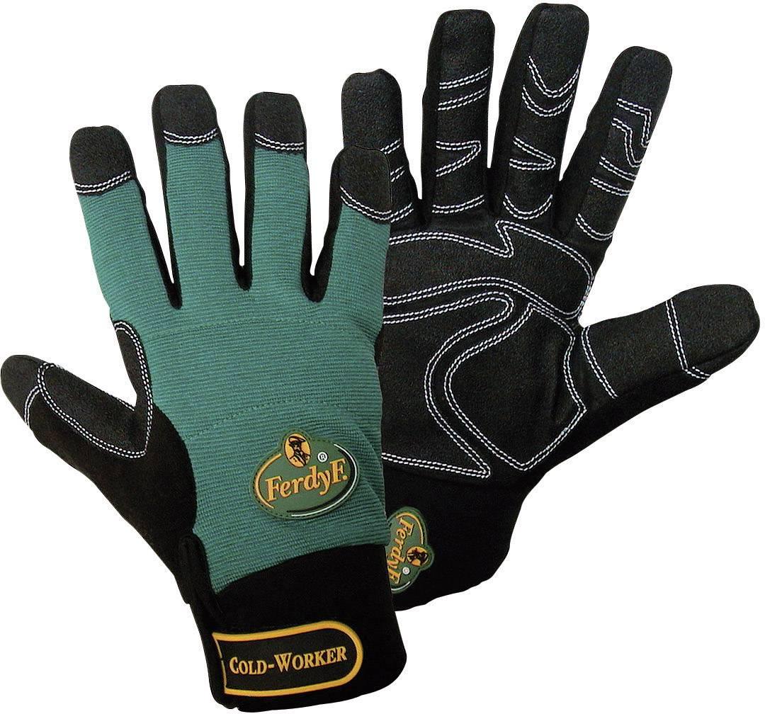 Montážní rukavice FerdyF. Cold Worker 1990, velikost rukavic: 7, S