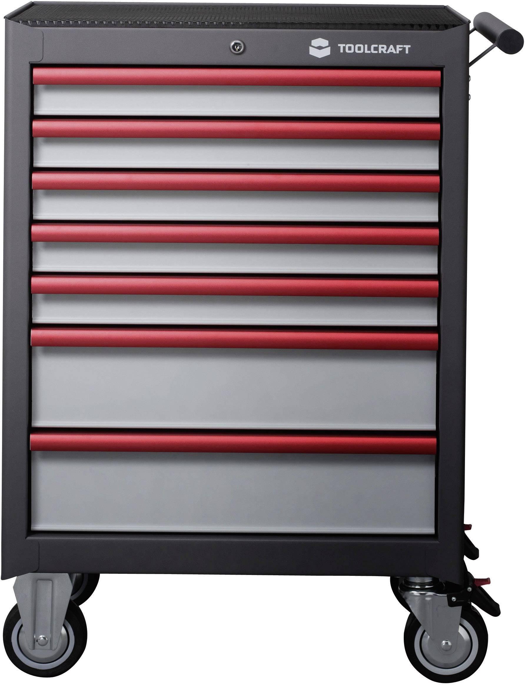 Dílenský vozík Toolcraft WSW-307, 681 x 1000 x 459 mm