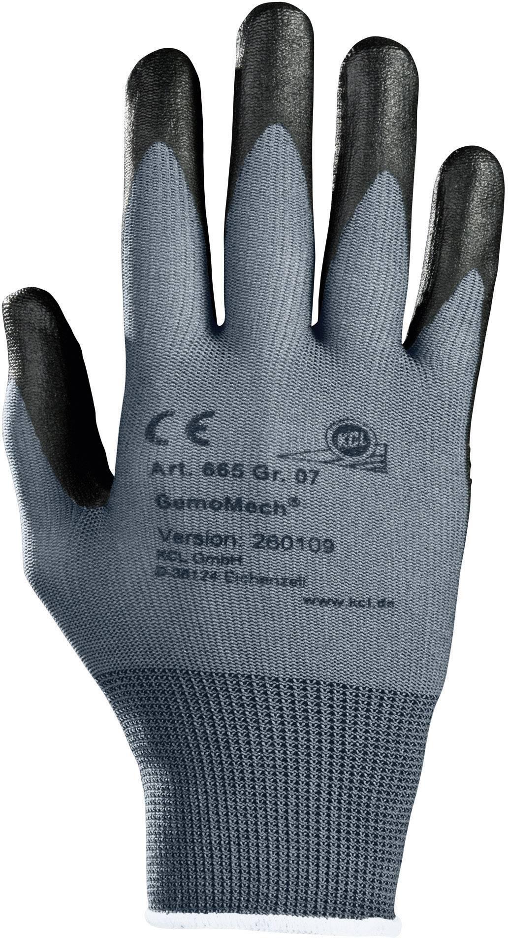 Pracovní rukavice KCL GemoMech 665 665, velikost rukavic: 9, L