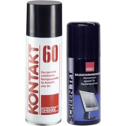 Čisticí prostředek pro kontaktní plochy včetně čisticího prostředku TFT 100ml Kontakt Chemie KONTAKT 60 1 sada