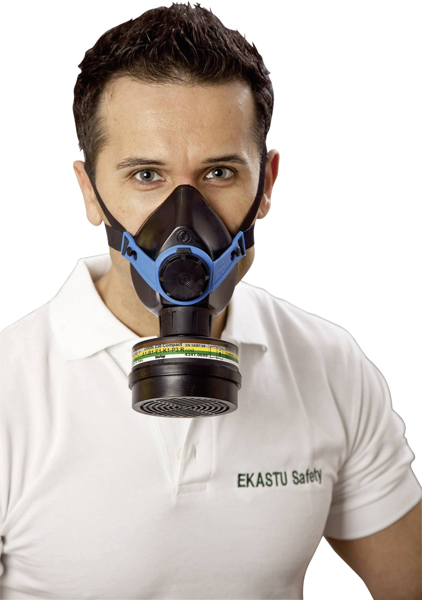 Respiračná polomaska Ekastu SEKURA Safety Colorex multi A1B1E1K1-P3R