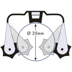 Sada držáků Prax, Ø 35 mm, 0,8 mm, 6 ks